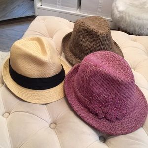Nordstrom Hats 3 Pair